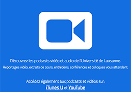 Podcasts de l'UNIL