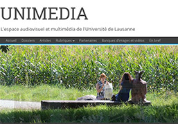 Multimedia at UNIL... - Unimedia