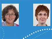 Awards 2013 - T. Petrova and A. Sabine, winners of the 2013 Pfizer Award