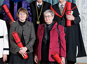 Awards 2013 - Mrs Utz Tremp receives an honorary doctorate from the University of Bern