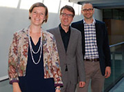 Award 2014 - IEPI succession at UNIL singled out by the Swiss Academy of Human and Social Sciences