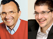 "Award 2015 - Prof. Yves Pigneur and Alexander Osterwalder singled out at the Management ""Oscars"""