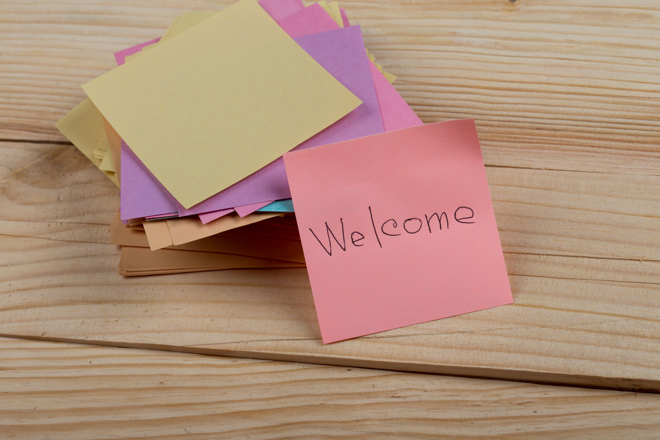 "dreamstime_m_144001488.jpg (greeting concept - The text ""Welcome"" written..."