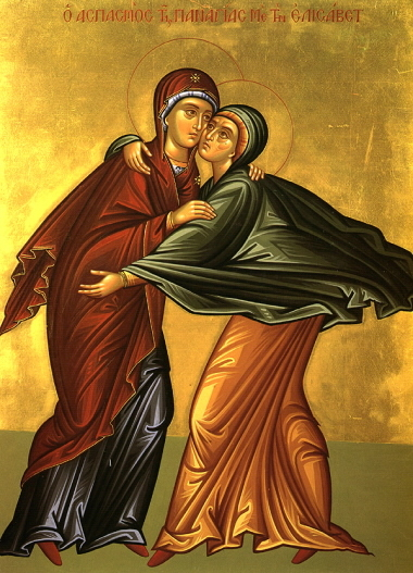 ... du mardi 21 décembre 2010 : la rencontre de Marie et d'Elisabeth