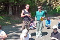 Photo excursion étudiants MSc BGS 2011