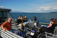 Photo excursion étudiants MSc BGS 2010