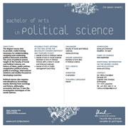 Bachelor of Arts in Political Science, PDF, 96 Kb