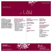 Bachelor of Law, PDF, 85 Kb