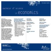 Bachelor of Science in Economics, PDF, 92 Kb