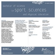 Bachelor of Science in Sport Sciences and Physical Education, PDF, 101 Kb