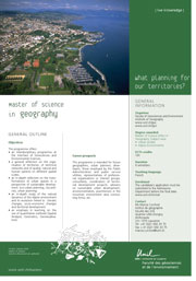 Master of Science in Geography, PDF, 141 Kb