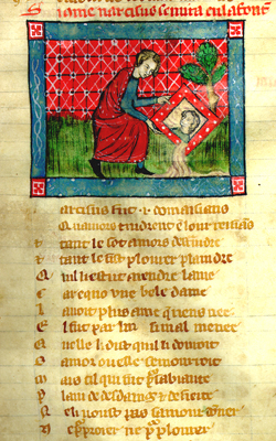 Manuscrit du Roman de la Rose