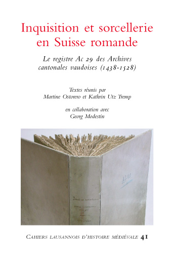 Inquisition et sorcellerie en Suisse romande (couverture)