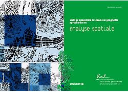 Plaquette analyse spatiale et systèmes complexes MSc GEO