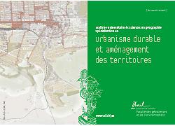 Plaquette orientation urbanisme durable et aménagement des territoires MSc GEO