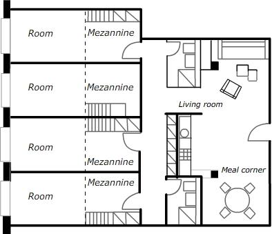 Description Of An Apartment Plan 232 Te Bleue Lausanne